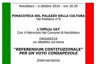 Noicattaro. Incontro referendum front