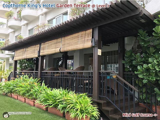 Copthorne Kings Hotel Garden Terrace