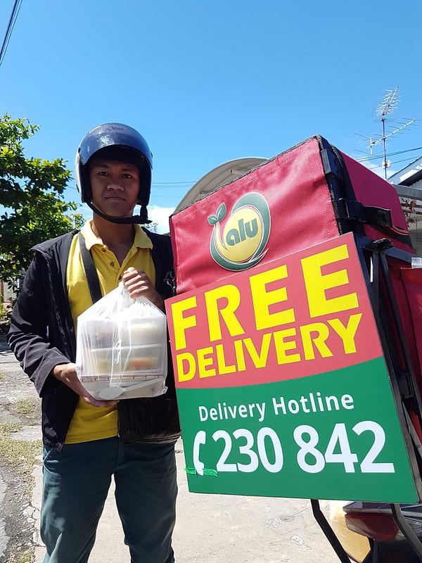 Alu Alu delivery