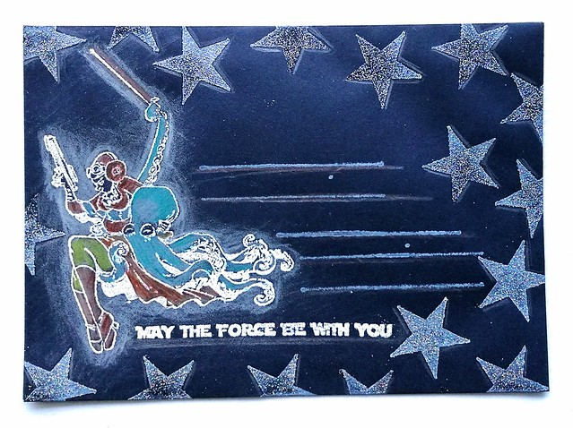 May the force be with you Mail Art