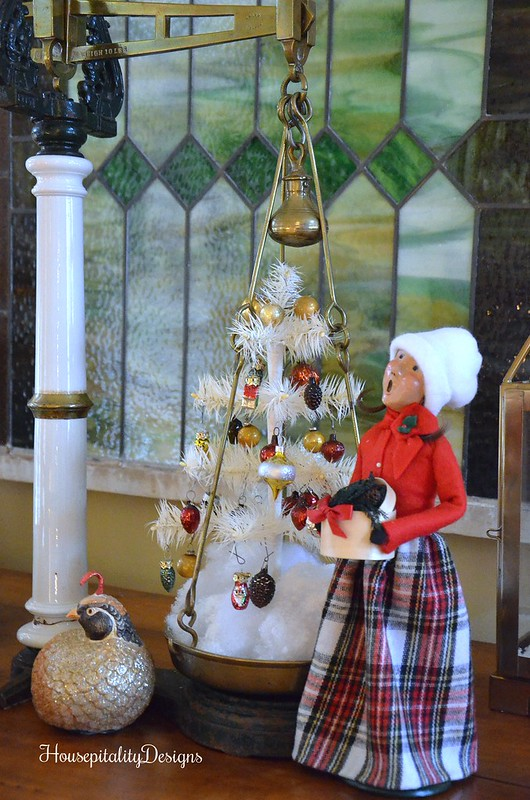 Byer Caroler-Antique Scale-Vintage tree-Housepitality Designs