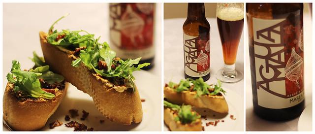 primer-plato-cena-maridaje-con-cerveza