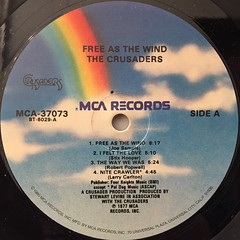 THE CRUSADERS:FREE AS THE WIND(LABEL SIDE-A)