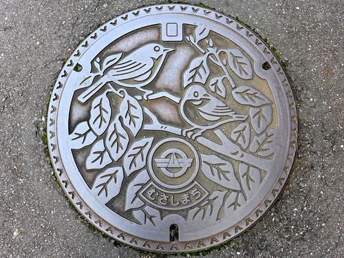 Musashi Oita, manhole cover (大分県武蔵町のマンホール)