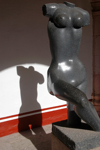 Sculpture in the Museo Pedro Coronel Modern Art Gallery in Zacatecas, Mexico