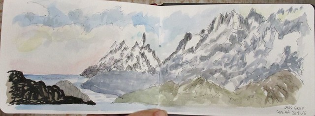 Glaciar Grey. Parque Torres del Paine. Chile