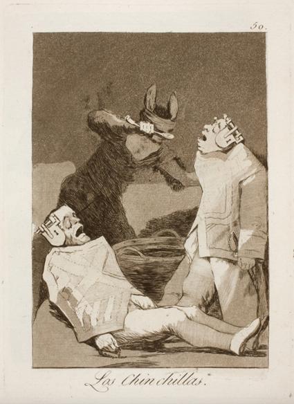 16l01 Goya Los chinchillas Capricho 50 Uti 425