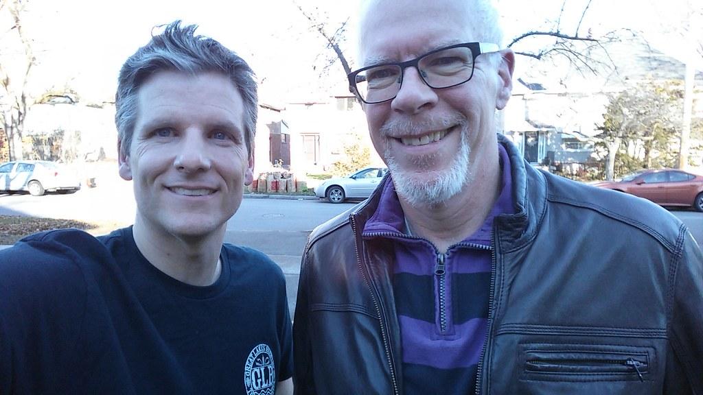 Chris Zelkovich and me