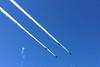 Fleet Week - Blue Angels four formation