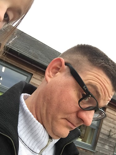Me with haircut