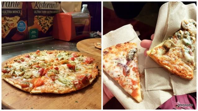 Ristorante thin crust pizzas