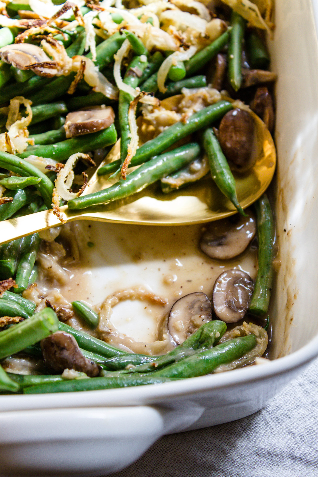 LIGHTENED-UP GREEN BEAN CASSEROLE