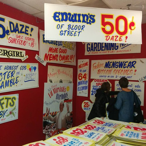 Among the signs, 1 #toronto #honesteds #signs