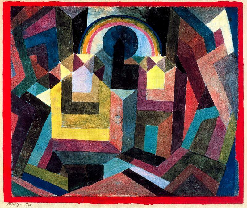 Paul Klee With the Rainbow - 1917