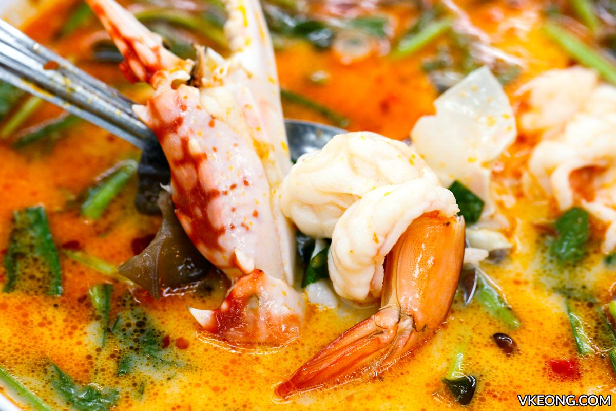 Tom Yum Seafood