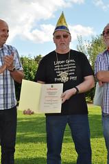 2012                          Ernst Gehrmann ernennen zum Ehrenvorsitzenden