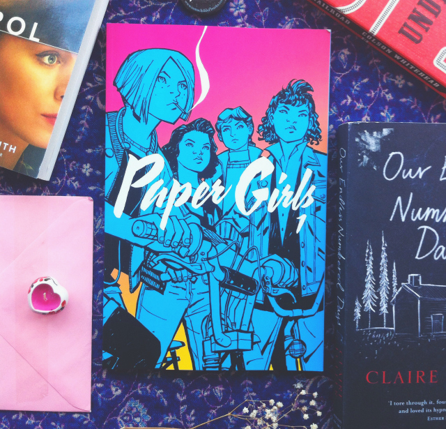 paper girls brian k vaughan uk lifestyle bloggers vivatramp