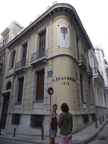 A. skaperdas &91é