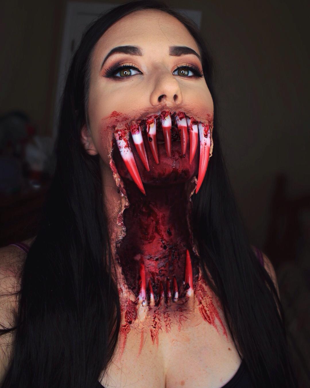 Готовимся к Хэллоуину: самый жуткий грим - ПоЗиТиФфЧиК - сайт позитивного настроения!