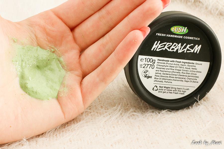 5 Lush herbalism face cleanser kuinka käyttää