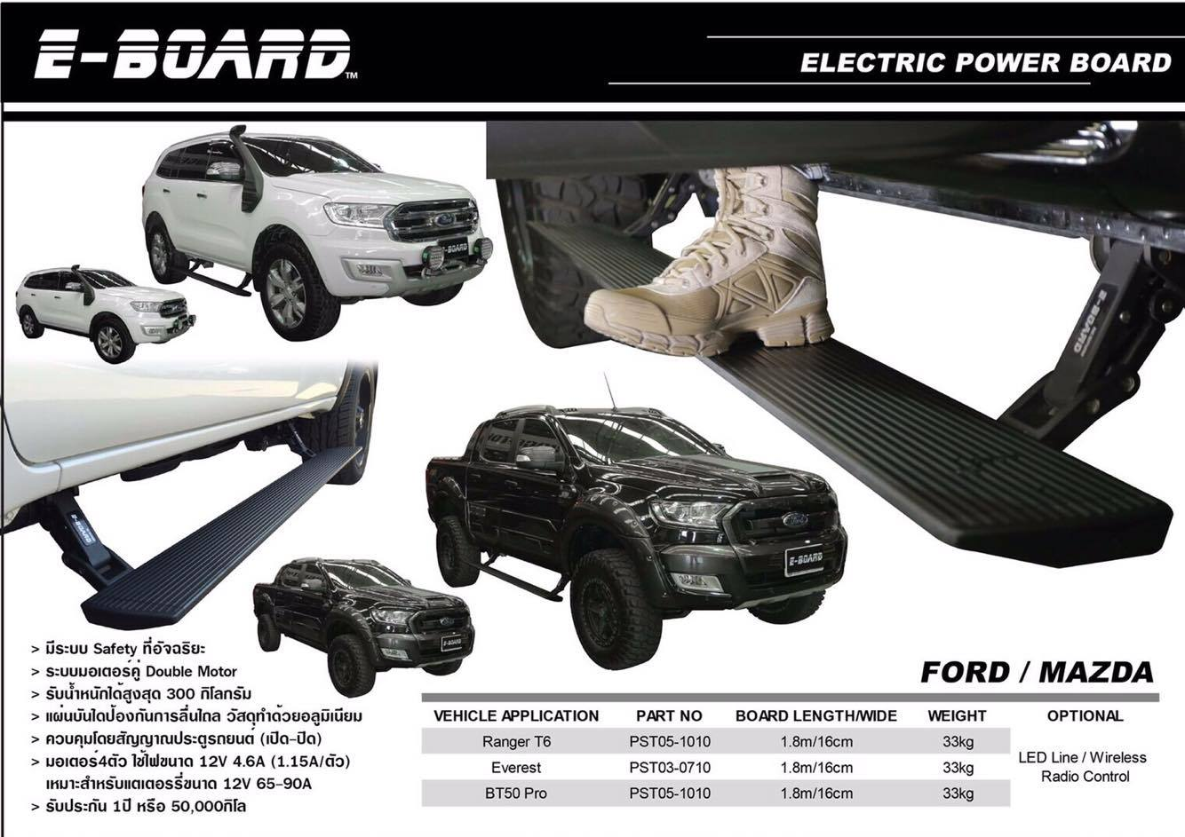 บันไดข้างสไลด์อัจฉริยะ E-BOARD