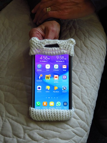fo: Yarn Bombed Phone