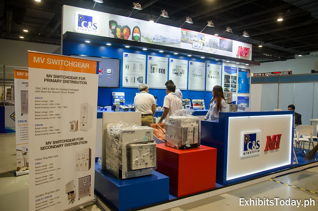 C&S Electric MH Exhibit Booth