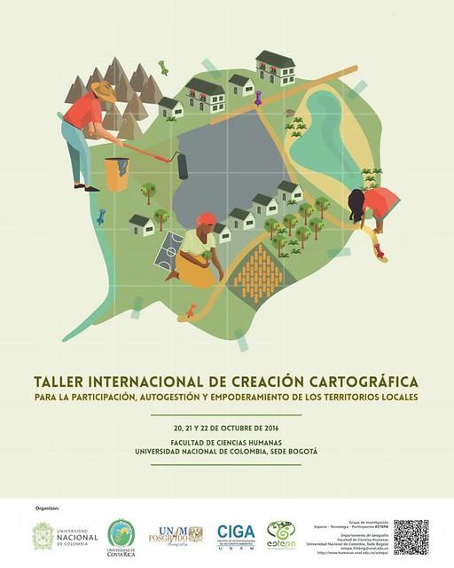 taller internacional de creación cartográfica