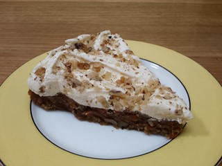 Fudgy Carrot Cake from Veganyumm
