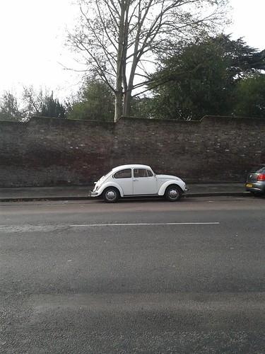 VW Car on Highgate High Street