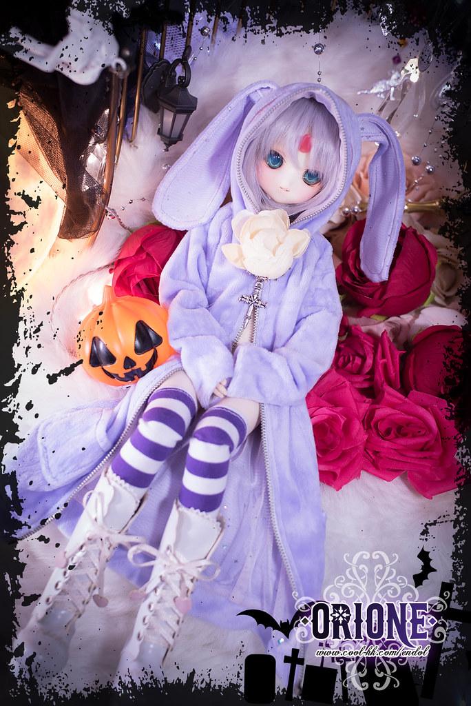 [Idoll HK2] DD/MDD outfit set - Lilac Rabbit Magician