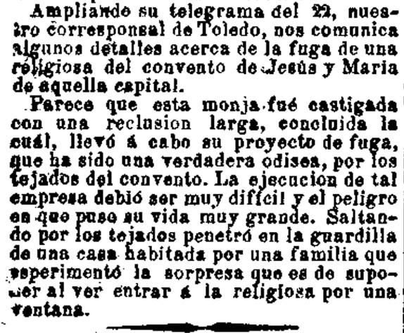 La Correspondencia de España. 26-12-1889, n.º 11.590, página 2.