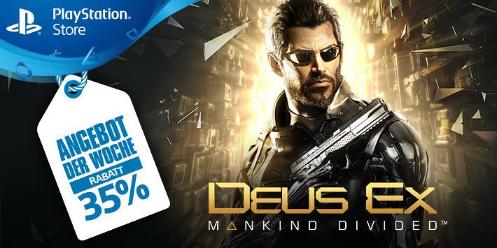 Angebot der Woche - Deus Ex: Mankind Divided