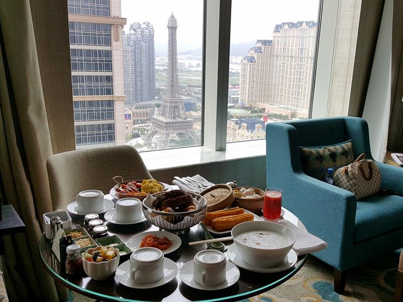St. Regis Hotel breakfast