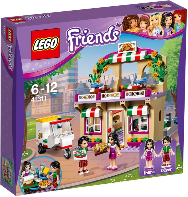 LEGO Friends 2017 - Heartlake Pizzeria (41311)