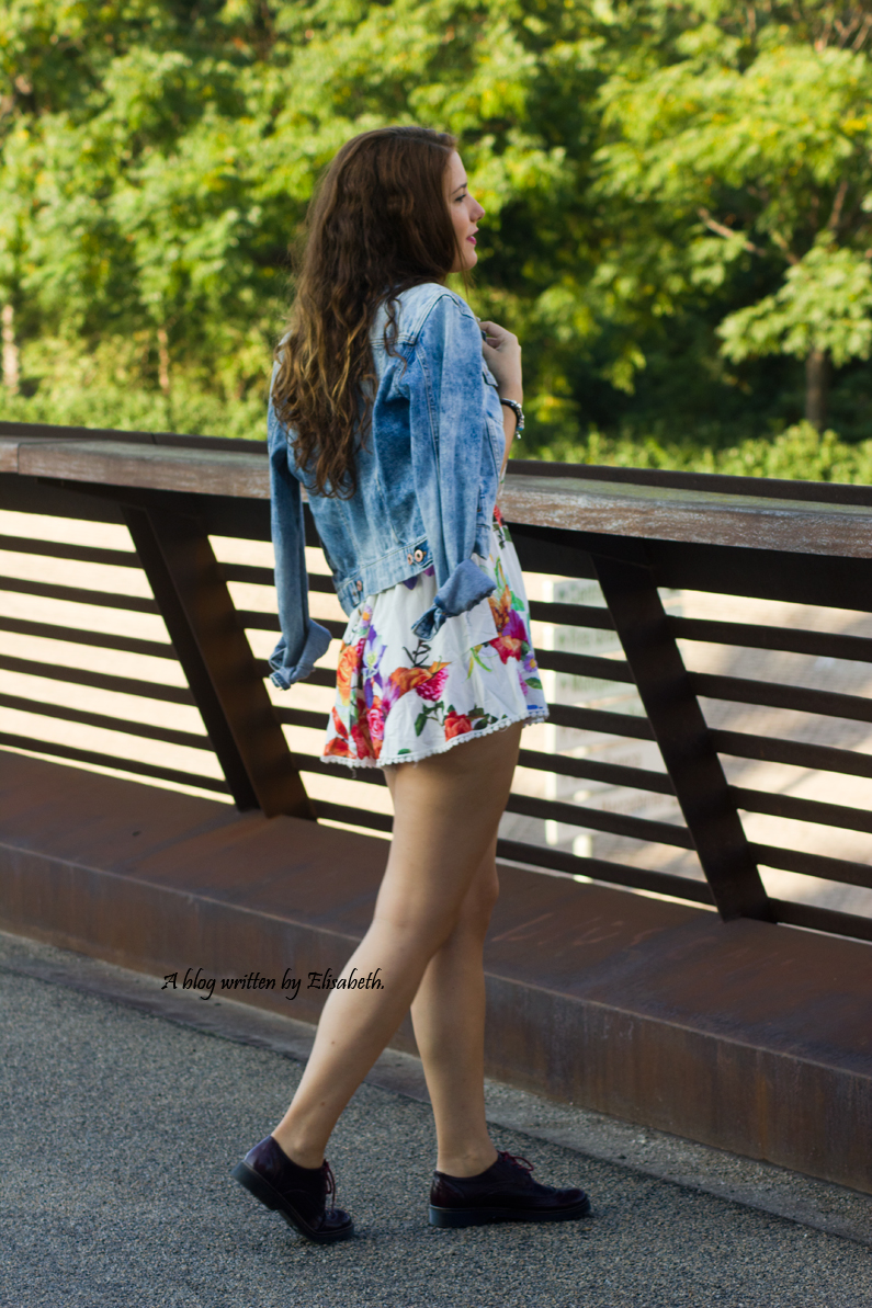 kimono floral chaqueta vaquera denim top shana burgundy oxfords primark pull and bear inditex HEELSANDROSES(4)