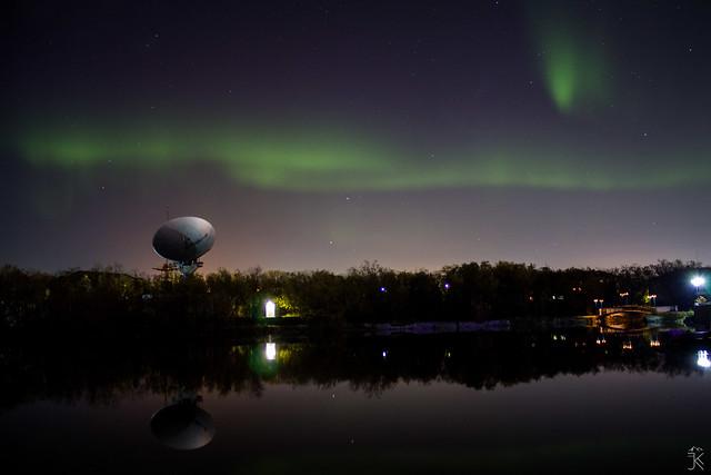 Northern Lights in Vorkuta