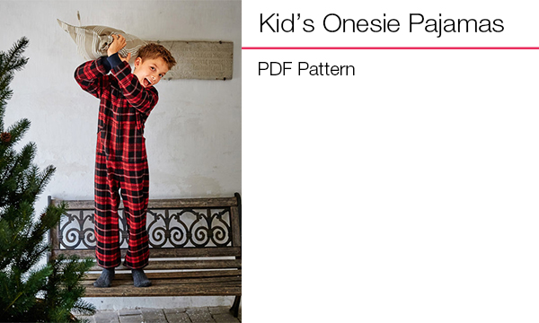 Kids Onesie Pajamas