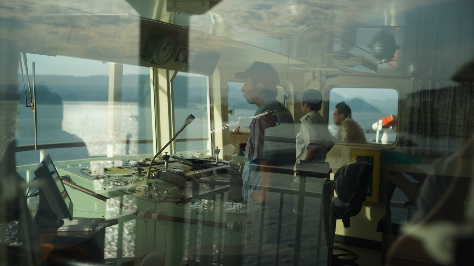 Reflections: Ferry #SonyA7 #Voigtlander40mm #foto #japan15 #Kagoshima