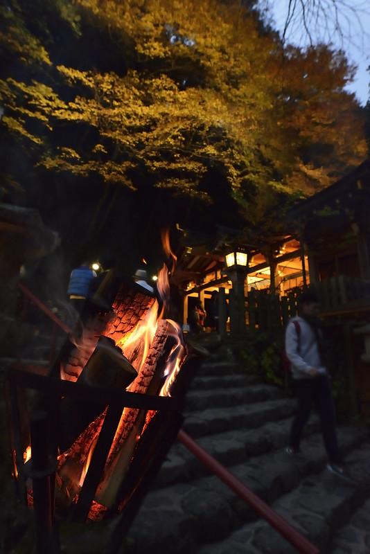 京都・貴船神社・紅葉