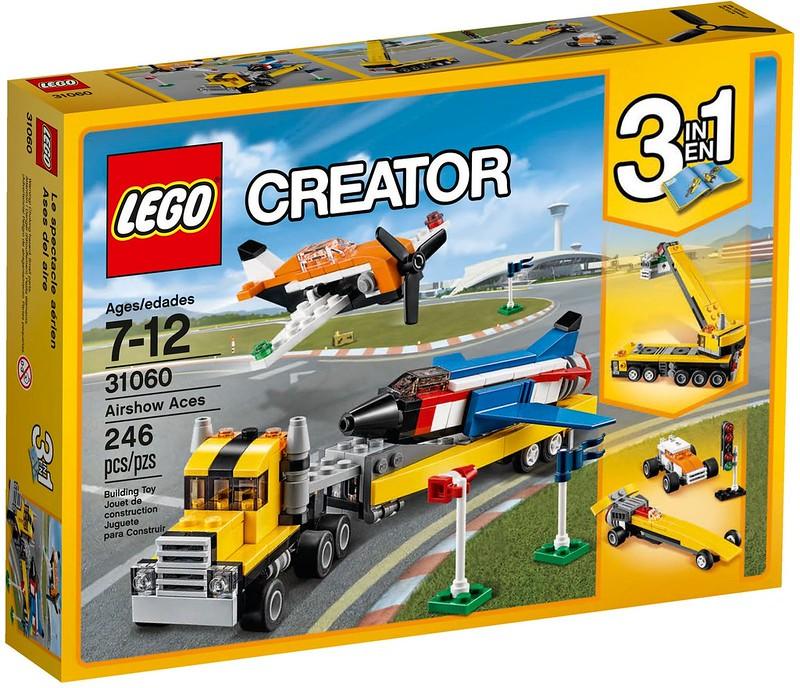 LEGO Creator 2017 - Airshow Aces (31060)