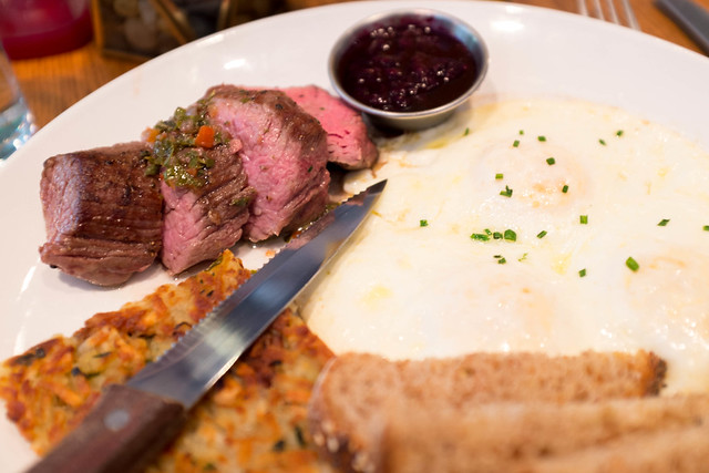 Maplewood Kitchen Steak and Eggs