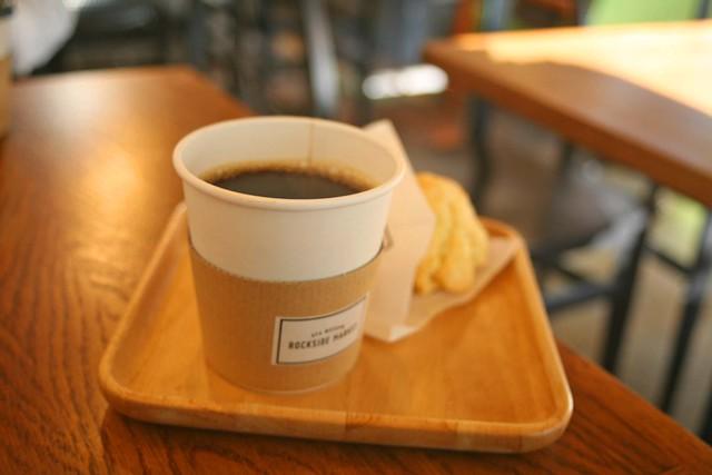大谷ロックサイドマーケット、コーヒー