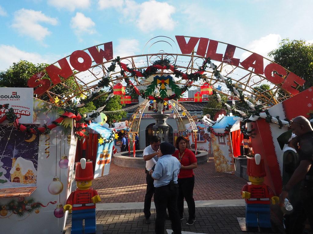 Legoland Malaysia Snow Village
