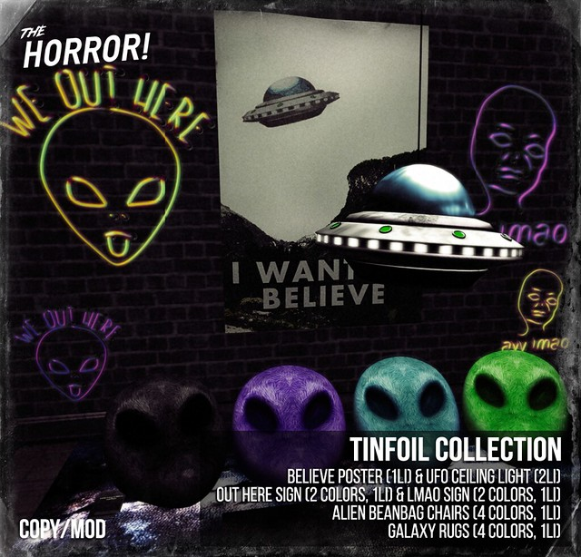 The Horror! ~ Tinfoil Collection @ 11:11
