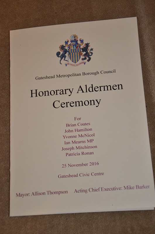 alderman ceremony Nov 16