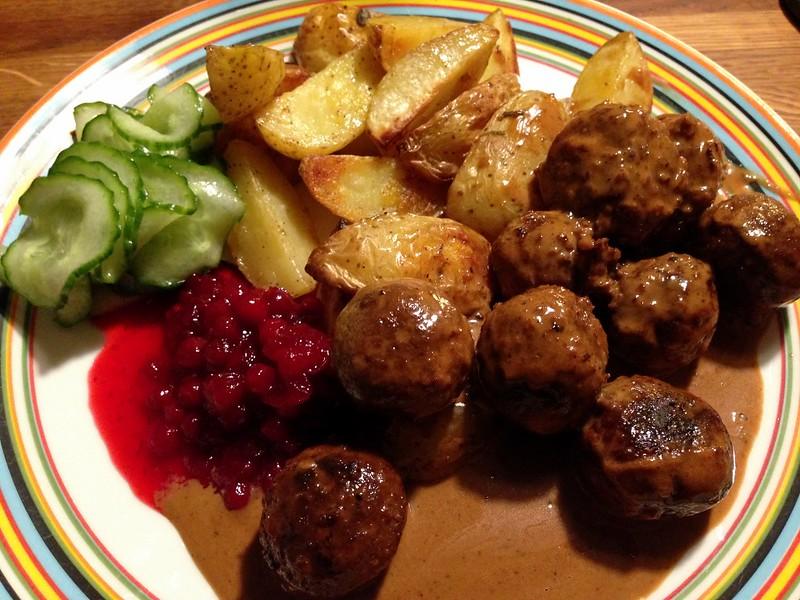 vegetarisk köttbullar