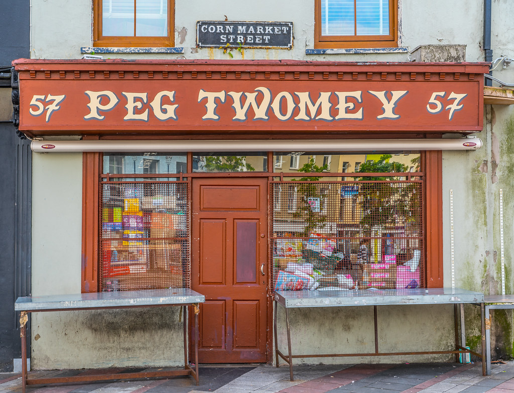 PEG TWOMEY [57 CORN MARKET STREET IN CORK]-122525