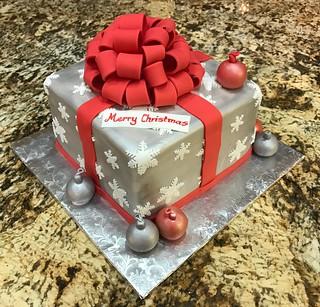 Cake for the Neighbor Progressive Christmas Party