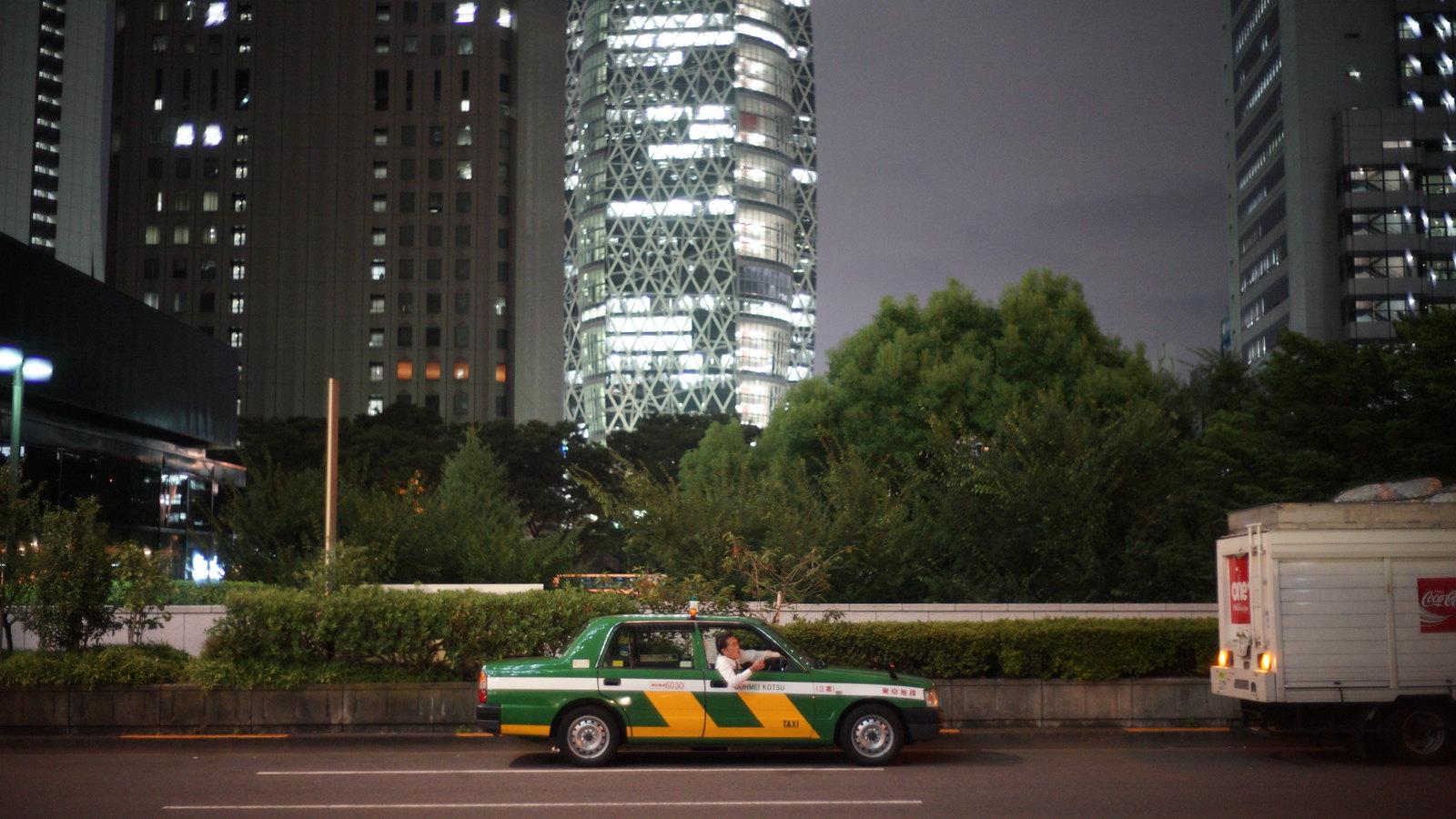 タクシー #foto #Shinjuku #Tokyo #japan15 #SonyA7 #Voigtlander40mm